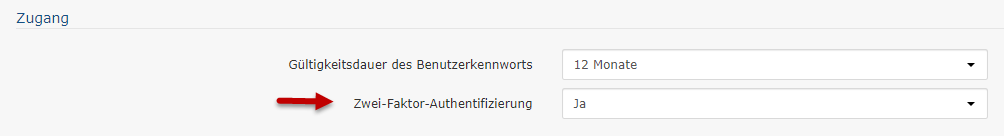 Zwei-Faktor-Authentifizierung aktivieren